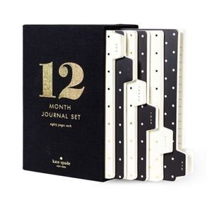 New Kate Spade Spot On Lined Notebook Journal Set
